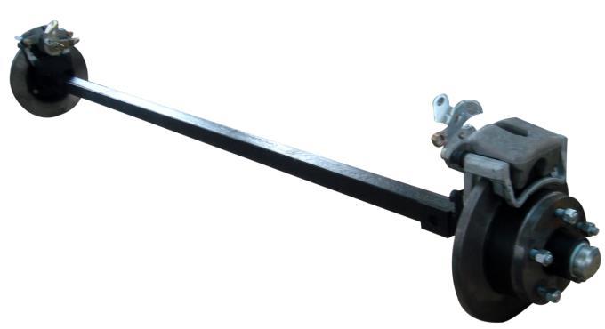 torsion trailer axles with brakes. 1.5t torsion axle with hydraulic disc brakes trailer axles r